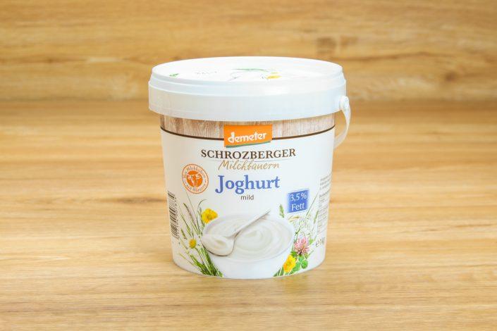 Schrotzberger Milchbauern -Joghurt, Vollmilch natur 3,5%für nur 2,19 €/Kg